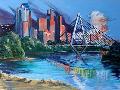 Painting - Kit Bond Bridge by Steve Karol