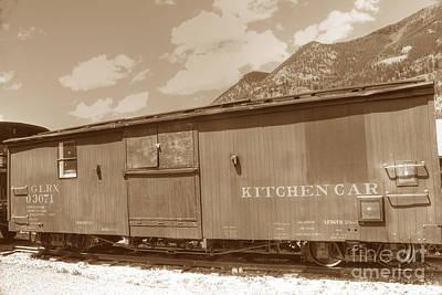 Photograph - Kitchen Car by David Bearden
