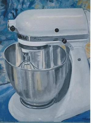 Kitchen Mixer Art Print by Terry Forrest