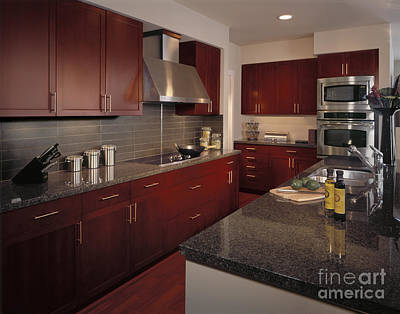 Upscale Photograph - Kitchen by Robert Pisano
