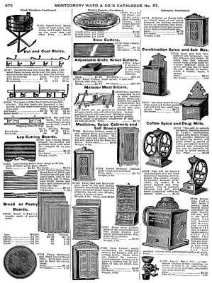 Spice Box Photograph - Kitchenware, 1895 by Granger