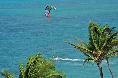 Photograph - Kite Surfer In Maui I I I by Kirsten Giving