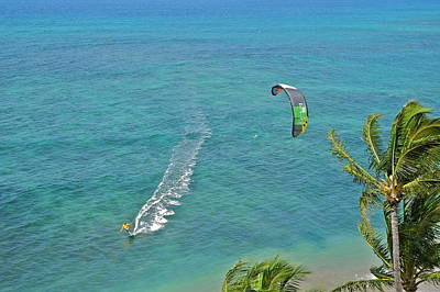 Photograph - Kite Surfer In Maui I V by Kirsten Giving