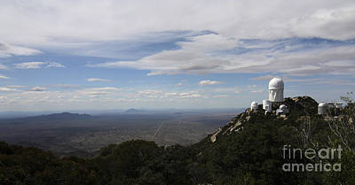 Quinlan Photograph - Kitt Peak Observatory Domes by Phillip Jones