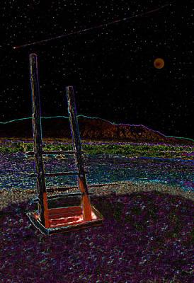 Anasazi Digital Art - Kiva Night by David Lee Thompson