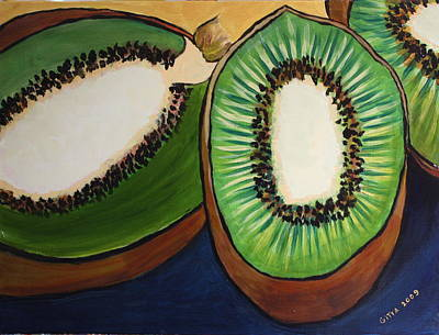 Kiwis Original by Gitta Brewster