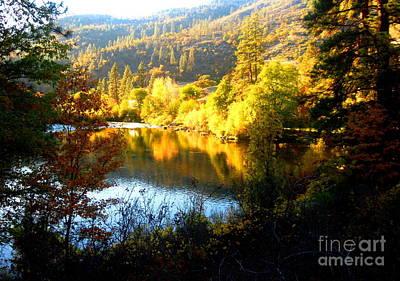Serenity Oregon Painting - Klam.12-25c by Shasta Eone