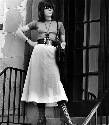 1970s Movies Photograph - Klute, Jane Fonda. 1971. Courtesy Csu by Everett