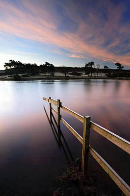 Photograph - Knapps Loch Sunrise by Grant Glendinning
