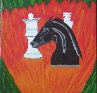 Knighted Art Print by Melissa Nowacki
