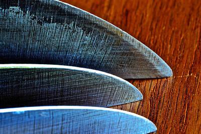 Photograph - Knives by Bill Owen
