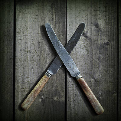 Table Knife Photograph - Knives by Joana Kruse