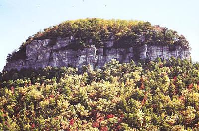 Knob Mountain Art Print