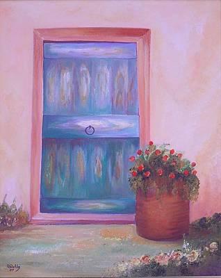 Knock Knock Art Print by Nabil Wehbe