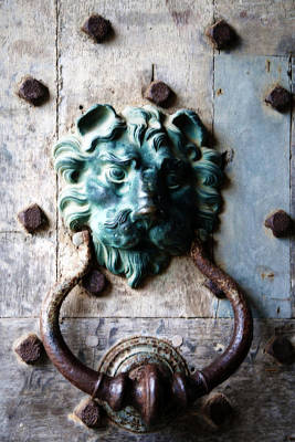 Photograph - Knocker From Leeds Castle by Lisa Knechtel