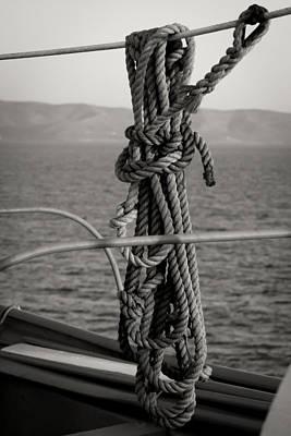 Knot Print by Jim Perpetos
