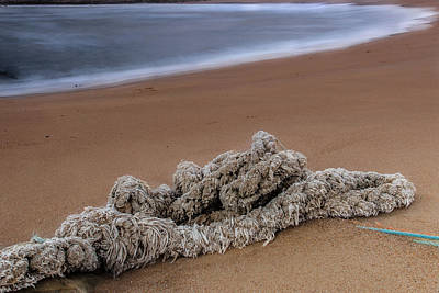 Photograph - Knots On The Sand by Edgar Laureano
