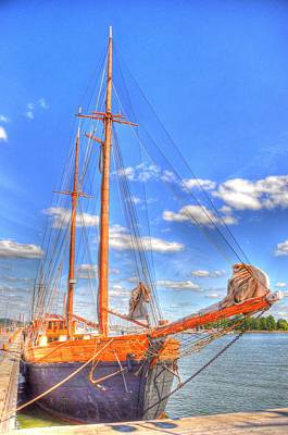 Helsinki Finland Digital Art - Know The Ropes by Barry R Jones Jr