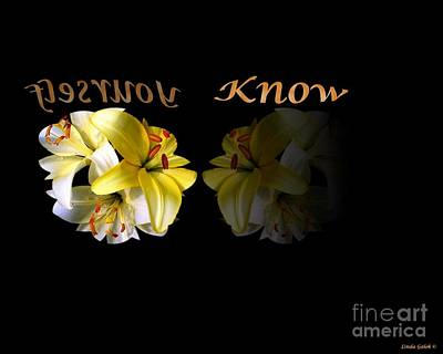 Know Yourself Art Print