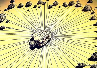 Knowledge Without Wisdom IIi Original by Paulo Zerbato