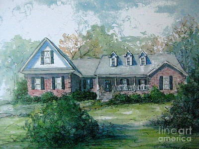 Painting - Knox's Home Illustration by Gretchen Allen