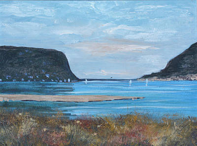 Cape Town Painting - Knysna Heads by Riana Van Staden