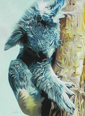 Pastel - Koala by Paul Miners