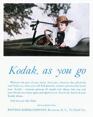 Photograph - Kodak Advertisement, 1917 by Granger
