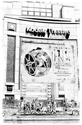 Photograph - Kodak Theatre by Ricky Barnard