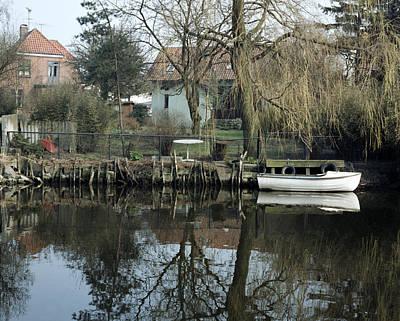 Koege Canal Original by Jan W Faul