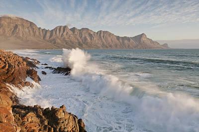 Kogelberg Coastline, False Bay, Western Cape, South Africa Art Print by Peter Chadwick