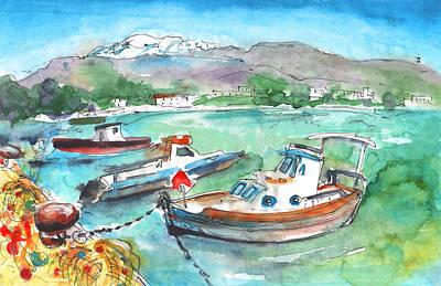 Painting - Kokkinos Pirgos by Miki De Goodaboom