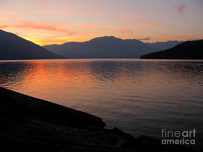 Photograph - Kootenay Lake September Splendor by Leone Lund