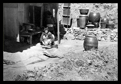 Photograph - Korean Homemaker - 1954 by Dale Stillman