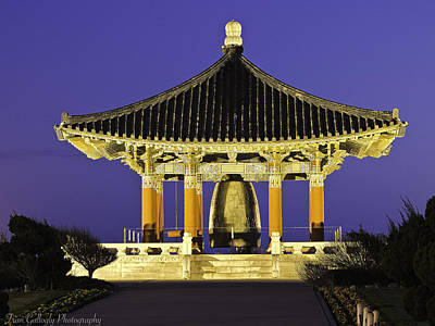 Photograph - Korean Peace Bell by Fran Gallogly