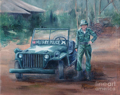 Painting - Korean War Hero by Brenda Thour