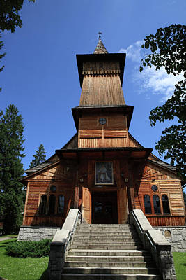 Photograph - Koscielisku Kazimierza Church  by Tony Brown