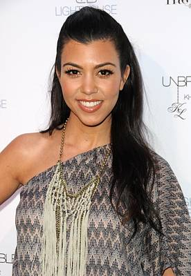 Unbreakable Fragrance Launch Photograph - Kourtney Kardashian In Attendance by Everett