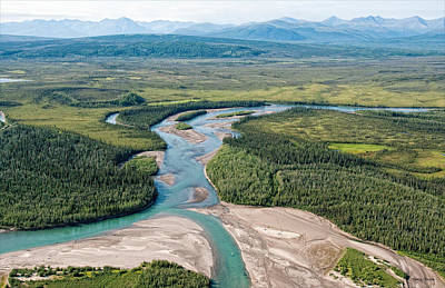 Photograph - Koyukuk River by Gary Rose