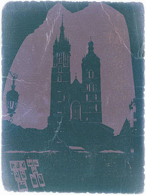 Krakow Art Print by Naxart Studio