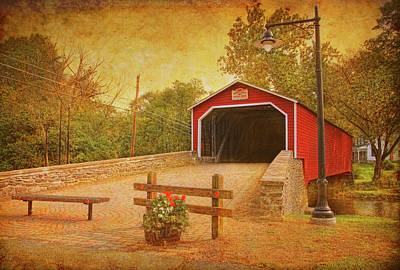 Kreidersville Bridge 2 Art Print
