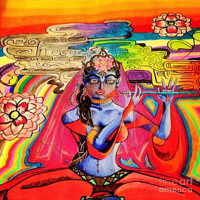 Krishna Print by Jeffrey Kyker