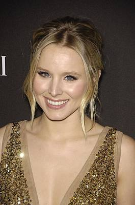 Kristen Bell At Arrivals For 12th Art Print