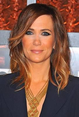 Statement Necklace Photograph - Kristen Wiig In Attendance For The by Everett