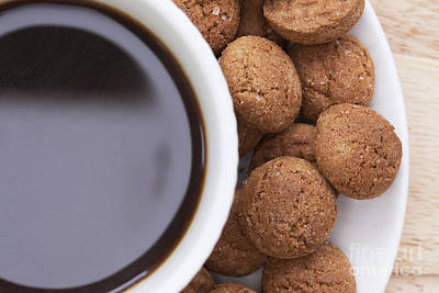 Photograph - Kruidenootjes And Coffee by Charlotte Lake