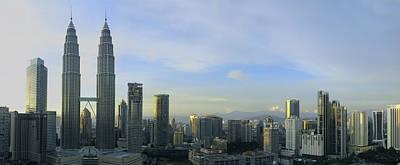 Photograph - Kuala Lumpur City Skyline by Zoe Ferrie