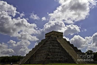 Photograph - Kukulkan Pyramid by Ken Frischkorn