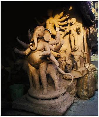 Durga Puja Photograph - Kumartuli by Murtuza Madraswala