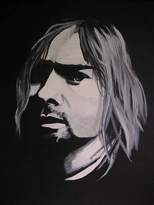 Painting - Kurt Cobain by Rock Rivard