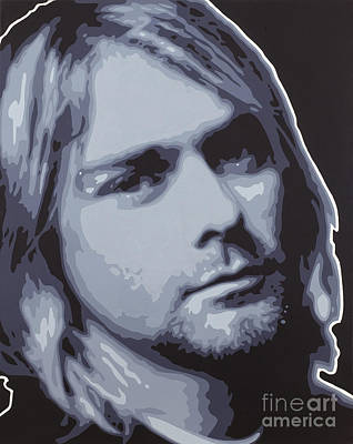 Foo Fighters Painting - Kurt Cobain by Sonny Forbes